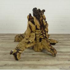 16158E Sculpture Decoration Parrot Teak 1.01 m