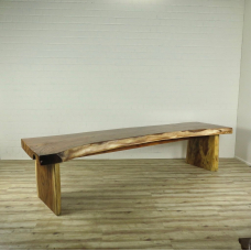 16209E Dining Table Teak Tree Trunk 3.50 m x 1.03 m