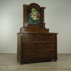16269E Kommode mit Aufsatz Gründerzeit 1880