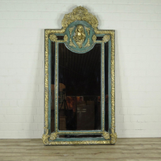 16272E Wall Mirror Baroque Gold 1.12 m x 2.17 m