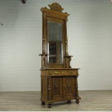 16307E Garderobe Spiegel Gründerzeit 1880