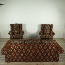 16333 Amerikanische Couchgarnitur 3-1-1