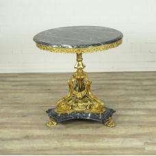 16343E Tisch Beistelltisch Barockstil Ø 0,81 m