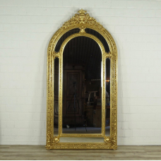 16361 Spiegel Wandspiegel Barock Gold 1,12 m x 2,09 m