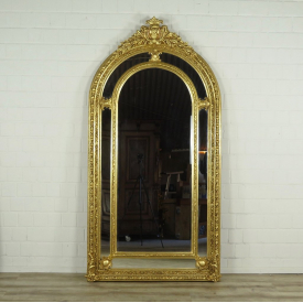 16361 Wall Mirror Baroque Gold 1.12 m x 2.09 m