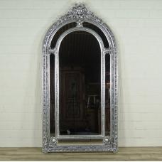 16362 Spiegel Wandspiegel Barock Silber 1,12 m x 2,09 m