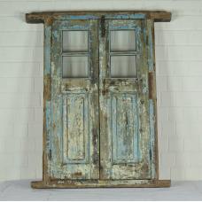 16390 Fenster mit Rahmen Antik 1850