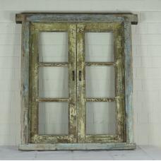 16391 Fenster mit Rahmen Antik 1850
