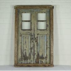 16392 Fenster mit Rahmen Antik 1850
