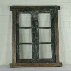 16399 Fenster mit Rahmen Antik 1850