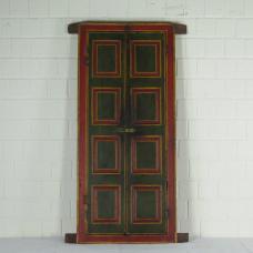 16402E Fenster mit Läden Antik 1850