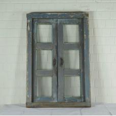 16405 Fenster mit Rahmen Antik 1850
