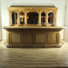 16473E English Bar Counter Teak 3.60 m