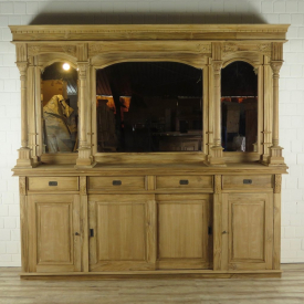 16475aE English Bar Counter Teak 2.60 m