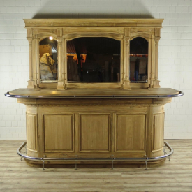 16475E English Bar Counter Teak 2.60 m