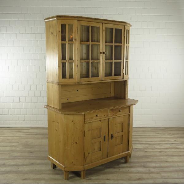 16502 Buffet Cabinet Biedermeier 1890, Buffet Hutch Furniture