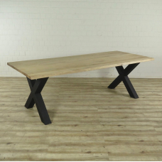 16549E Dining Table Oak 2.40 m x 1.00 m