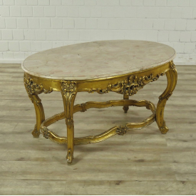 16629 Baroque style coffee table 1850