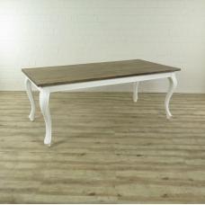16666E Esstisch Tisch Teakholz 2,00 m x 1,00 m