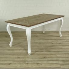 16667E Esstisch Tisch Teakholz 1,80 m x 0,90 m