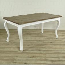 16668E Esstisch Tisch Teakholz 1,60 m x 0,90 m