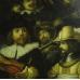 16699 Gemälde Rembrandt Nachtwache 1,28 m x 1,09 m