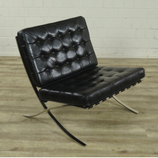 16765E Leather chair Modell Barcelona