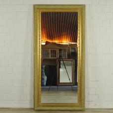 16767 Spiegel Wandspiegel Gold-Grün 0,95 m x 1,95 m