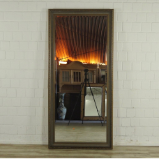16768 Spiegel Wandspiegel Altgold-Bronze 0,86 m x 1,86 m