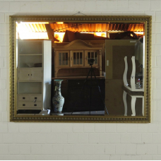 16772 Spiegel Wandspiegel Gold 1,64 m x 1,24 m