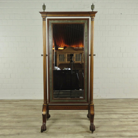 16787 Maitland-Smith Mirror Mahogany 2.00m