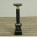 16814E Säule Pfeiler Marmor Schwarz 1,03 m