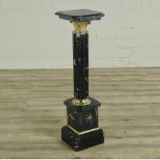 16814E Pillar Marble Black 1,03 m