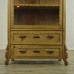 16845E Vitrine Biedermeier 1860