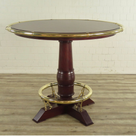 16850 Bar Table Mahogany Ø 1,43 m