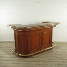 16854bE English Bar Mahogany 2,00 m