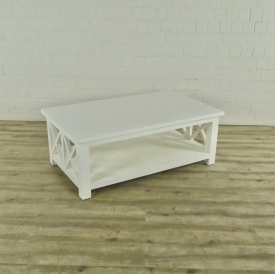 16875 Coffee Table White 1,35 m x 0,80 m