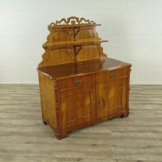 16911E Halbschrank Anrichte Biedermeier 1870
