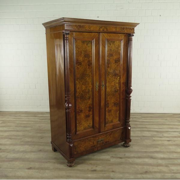 16922E Kleiderschrank Schrank Gründerzeit 1880