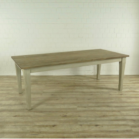 16965 Dining table Old France Teak 2,20 m x 1,00 m