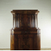 16977E Eckschrank Biedermeier 1840