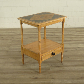 16998 VAN THIEL & CO. Side Table - Teak 0.62 m