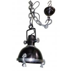 17027a Lampe Hängelampe Metall Schwarz 28 cm