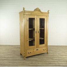 17035E Vitrine Biedermeier 1880