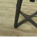 17063 Barhocker Industrial Design Leder Braun