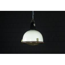 17107a Industrielampe Hängelampe Weiß Ø 0,37 m