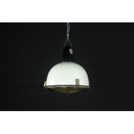 17107a Industrial Lamp Hanging Lamp White Ø 0.37 m