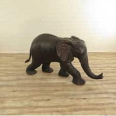 17127E Gargoyle Decoration Elephant Bronze 1,00 m