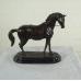 17157E Skulptur Dekoration Pferd Bronze 0,48 m