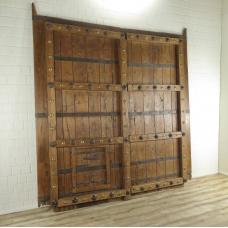 17158E Tür Eingangstür Haustür Teakholz